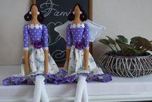 Sewing & Tilda dolls ♥