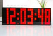 MAGNUM CLOCK PRODUCTS / Many businesses, churches and sports teams are finding that a large Magnum digital LED wall clock offers many advantages over other types of clocks.