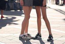 ELLE // Look . Mini skirt