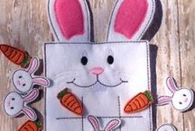 Rabbit ~ DIY Crafts, Lessons, Coloring / Homeschool and classroom activities with bunny rabbits, including crafts, lessons, and coloring pages: inspiration from Peter Rabbit; character in the Thornton W. Burgess books.