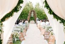 Spring Wedding / Pastels, gardens, and flowers, oh my! Spring wedding inspiration isn't hard to find. Let your love bloom with these breathtaking ideas.