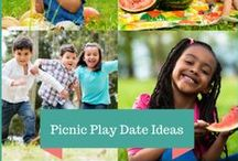 Picnic Play Date Ideas / Tips and Ideas for a Picnic Party or Picnic Play Date, Picnic Birthday, Picnic Food, Picnic Activities, Picnic Ideas, Picnic Crafts