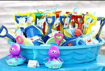 Water Play Date Ideas / Tips and Ideas for a Water Themed Party or Water Themed Play Date, Water Themed Birthday, Water Themed Food, Water Themed Activities, Water Themed Ideas, Water Themed Crafts, Pool Party, Beach Party, Under the Sea Party