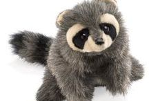 Raccoon ~ Toys, Games, Plush / Raccoon toys, games, plush stuffed animals and puppets: inspiration from Bobby Coon; character in the Thornton W. Burgess books.