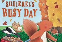 Squirrel ~ Books / Books with squirrel characters: inspiration from Chatterer the Red Squirrel and Happy Jack Squirrel; characters in the Thornton W. Burgess books.