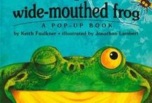 Frog ~ Books / Books with frog characters: inspiration from Grandfather Frog; character in the Thornton W. Burgess books.