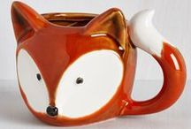 Fox ~ Decor / Fox home and living decor: inspiration from Reddy Fox; character in the Thornton W. Burgess books.
