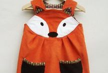 Fox ~ Clothing, Accessories / Fashion with foxes: from clothing, jewelry, purses, costumes. Inspiration from Reddy Fox; character in the Thornton W. Burgess books.