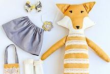Fox ~ Toys, Games, Plush / Fox toys, games, plush stuffed animals and puppets: inspiration from Reddy Fox; character in the Thornton W. Burgess books.