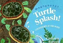 Turtle ~ Books / Books with turtle characters: inspiration from Spotty the Turtle; character in the Thornton W. Burgess books.