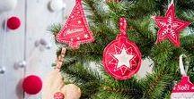 Noël Cosy / Cette année, vivez la magie de Noël dans la pure tradition avec notre collection Noël Cosy. Le rouge et le blanc sont à l'honneur pour créer une ambiance 100% chaleureuse et conviviale en famille. Nous vous proposons11 pas à pas créatifs dont un chalet de l'avent en bois, une guirlande de laine feutrée, une maison gourmande pour décorer votre table de fête et bien d'autres projets… Joyeuses fêtes de Noël à tous !