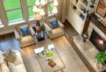 Spacious Living Room Interiors