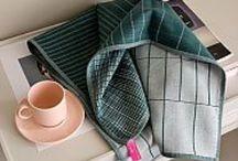 Dry the dishes / Kleed de keuken aan met mooi en praktisch  textiel.