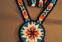 NATIVE BEAD WORK / by Mary Dumke