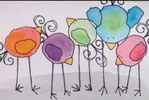 Creative Inspirations . . . / painting, paper, creating & whimsy / by . . . Ruthie . . .