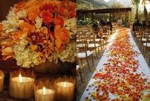Fall Wedding / Style inspiration for a fall wedding