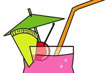CLIP ART / Cocktail Mix / by Pia