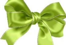CLIP ART / Bow & Ribbon & Flower Bow / by Pia