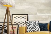 Mix & Match / Bring style and character to your home by mixing and matching textures with your PERGO floor.