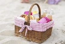 Let's Go on a Picnic . . . / simple outdoor pleasures packed full of memories / by . . . Ruthie . . .