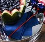 Festive Fourth of July / Get ready for Fourth of July in a snap with these quick and easy tips for the perfect patriotic celebration.