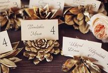 Flattering Feast / Host the perfect Thanksgiving dinner with spectacular place settings, centerpieces and kitchen decor.