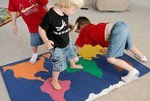 DIY - Les Enfants Du Monde / Activités éducatives et créatives pour les enfants, d'inspiration Montessori.  Pars autour du globe et découvre la richesse des autres enfants du monde avec la Chouette !
