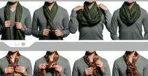Bufandas y Pañuelos Hombre / Tipos de nudos