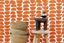 Collaboration | Skinny laMinx / Basketry by Design Afrika with fabrics Skinny laMinx - producing exciting results.