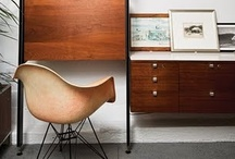 Mid Century Modern Love / delightful mid century beauties for the ranch on orange.