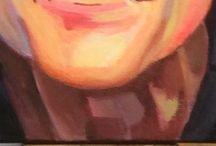 mijn schilderijen / schilderweek Erve Fakkert aug 2015