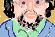 mijn iPad tekeningen / Mieke Fabery de Jonge, kunstenaar: Tekenen op de iPad is fantastisch!