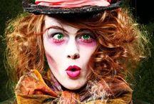 Kostüme + Makeup Ideen / Für Fasching, Halloween, Mottoparties, etc-