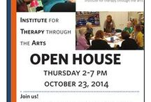 Open House 2014 / Want to see what Creative Arts Therapy looks like? This is event is for professionals in the Chicagoland area who are currently working as therapists or otherwise interested in learning more about our services at ITA.  There will be interactive Creative Arts Therapy Demonstrations, refreshments, information, and mingling!