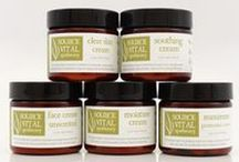 Face - Natural Facial Creams & Moisturizers / The beauty of Source Vitál's natural facial creams and moisturizers are in their protective barrier - while nourishing and correcting a variety of conditions. These products work for your skin with strong protection, repair, softening, hydration, balance, soothing, and nourishment. Handcrafted in small batches in Houston, Texas, with the highest quality whole plant extracts, 100% pure essential oils and mineral-rich marine seaweed.