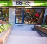 Project: Bike4city / interior design and construction-bicycle products and accessories.