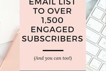 Email Marketing Help and Tips | Build Your Email List / -Email marketing help- Build your email list and create amazing, engaging content to send to your list.  #emailmarketing #email #emaillist #bloggers