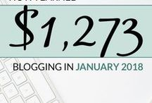 Blog Income Reports / A collection of different blogging income reports from lots of different bloggers, which also includes information on how they make their money online and tips that you can replicate so you can also make money from your blog.  #blog #blogging #bloggingtips #incomereports #mmo #blogtips