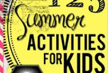 Boredom Busters & Summertime Fun Ideas / by April Driggers