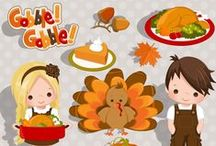Mygrafico Thanksgiving Graphics / Everything for the Thanksgiving Holidays! Copy and paste this URL: http://www.mygrafico.com/cliparts/holiday-cliparts/halloween-cliparts/cat_133.html / by Mygrafico Digitals