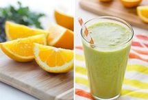 Smoothies / Smoothie recipes, green smoothies, oatmeal smoothies, all types of smoothies!