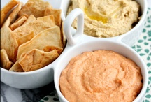 Dips and appetizers / by Angela Stephenson