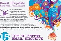 Infographics: Electronic Mail (e-Mail) / by Ana Santellana