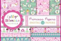 Mygrafico Princess Birthday Parties and Baby Shower Ideas / creative princess parties, papers, cliparts, paper crafts and more! / by Mygrafico Digitals