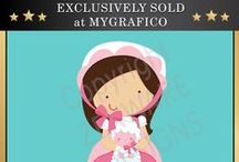 Mygrafico Exclusive : Clipart, Digital Paper and More! / Only sold at MyGrafico / by Mygrafico Digitals
