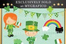 St. Patricks Day Graphics, Food & Craft Ideas / by Mygrafico Digitals