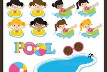 Pool Party Ideas and Graphics / by Mygrafico Digitals