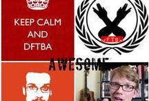 Vlogbrothers and Nerdfighteria / #NerdfightersUnite! :) #DFTBA #proudfangirl #vlogbrothers #DecreaseWorldSuck #Brotherhood2.0 #bestcommunityever #myfandom #hankandjohngreen #myfavoriteyoutubers #myfavoriteauthor / by Jessica Kraeer