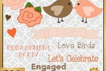 Engagement Parties / Engagement parties / by Mygrafico Digitals