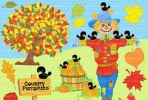 Mygrafico Autumn Harvest Party / Autumn and Harvest party ideas and clipart / by Mygrafico Digitals